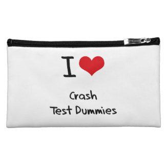 I love Crash Test Dummies Makeup Bag