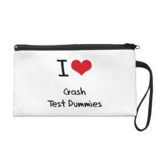 I love Crash Test Dummies Wristlets