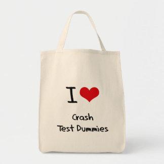 I love Crash Test Dummies Bags
