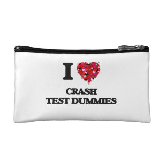 I love Crash Test Dummies Cosmetic Bag