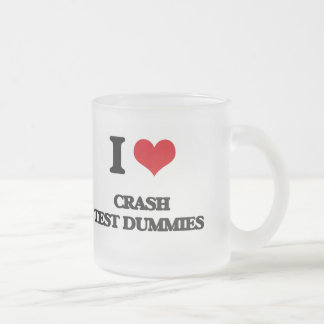 I love Crash Test Dummies Frosted Glass Coffee Mug