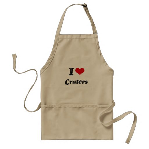 I love Craters Apron