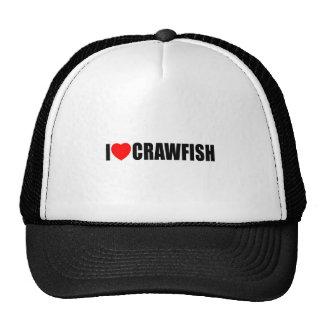 I Love Crawfish Cap