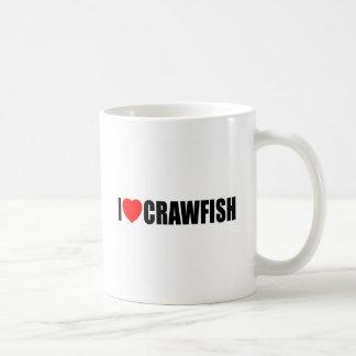 I Love Crawfish Coffee Mug