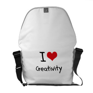 I love Creativity Courier Bags