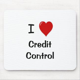 I Love Credit Control Mouse Mat