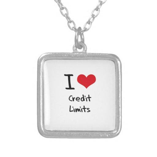 I love Credit Limits Jewelry