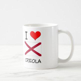 I Love CREOLA Alabama Basic White Mug