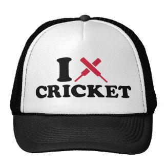 I love Cricket bats Trucker Hats