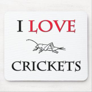 I Love Crickets Mouse Mat