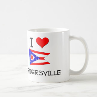 I Love Cridersville Ohio Basic White Mug