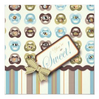 I Love Critters TY Square 13 Cm X 13 Cm Square Invitation Card