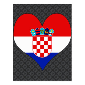 I Love Croatia Postcard