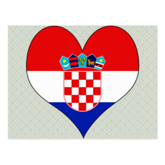 I Love Croatia Postcard
