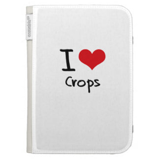 I love Crops Case For The Kindle