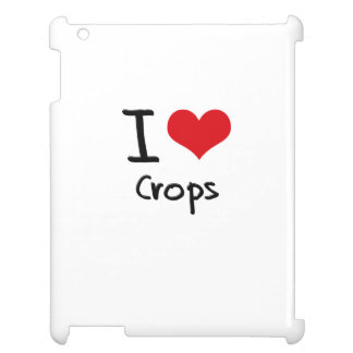I love Crops Case For The iPad 2 3 4