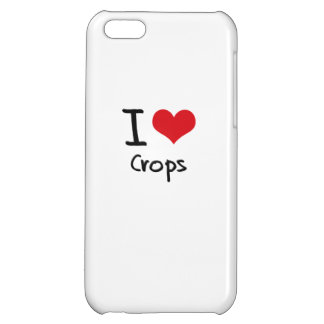 I love Crops iPhone 5C Cover