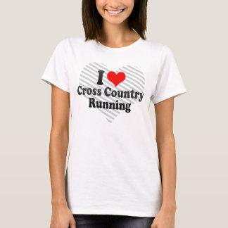 I love Cross Country Running T-Shirt