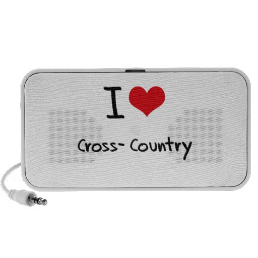 I love Cross-Country PC Speakers