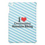 I love Crosscountry Mountain Biking iPad Mini Cases