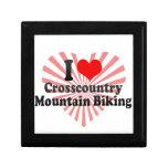 I love Crosscountry Mountain Biking Jewelry Box