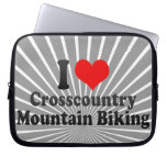 I love Crosscountry Mountain Biking Computer Sleeves