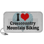 I love Crosscountry Mountain Biking Notebook Speakers