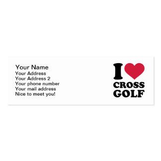 I love Crossgolf Business Cards