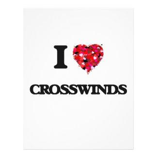 I love Crosswinds 21.5 Cm X 28 Cm Flyer