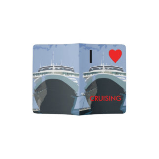 I Love Cruising Passport Holder
