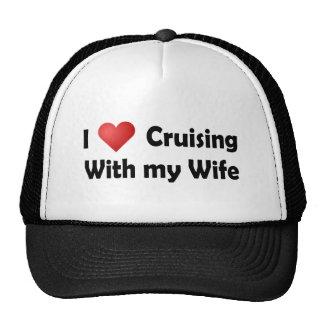 I Love Cruising... Wife Mesh Hats