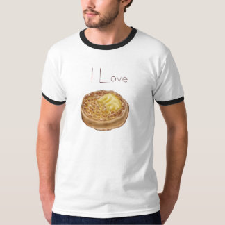 I love crumpets t-shirt