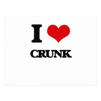 I Love CRUNK Post Card