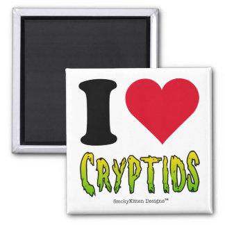 I Love Cryptids Refrigerator Magnets
