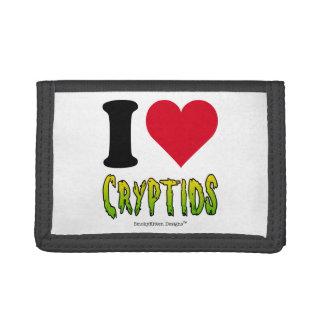 I Love Cryptids Tri-fold Wallet