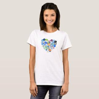 I love cryptos t-shirt design