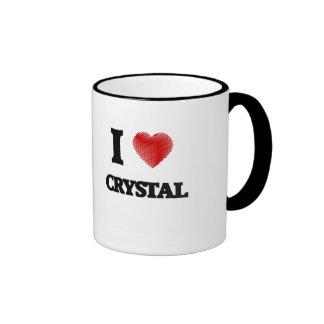 I love Crystal Ringer Mug
