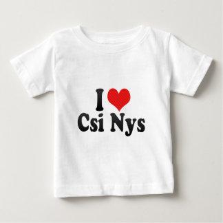 I Love Csi Nys Tee Shirts