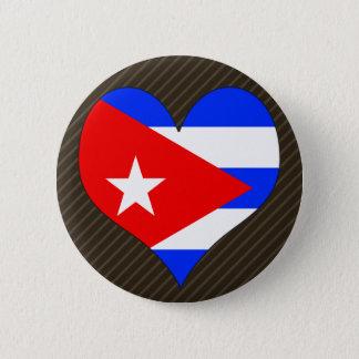 I Love Cuba 6 Cm Round Badge