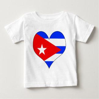 I Love Cuba Baby T-Shirt