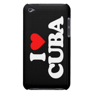 I LOVE CUBA iPod TOUCH CASE