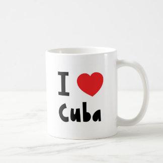 I love cuba coffee mug