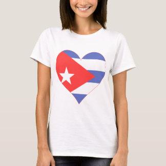 I Love Cuba Heart T-Shirt