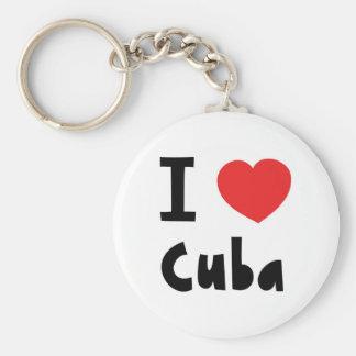 I love cuba key ring