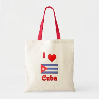 I Love Cuba Tote Bag