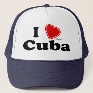 I Love Cuba Trucker Hat