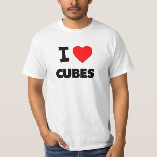 I Love Cubes Shirt