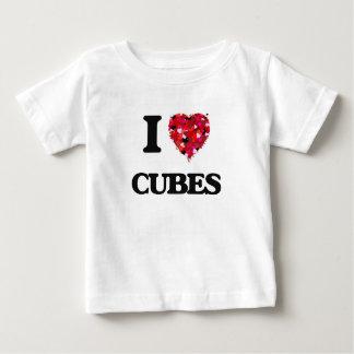 I love Cubes Tee Shirts