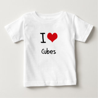 I love Cubes Tshirts