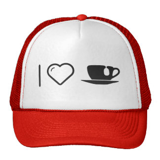 I Love Cup Teas Cap